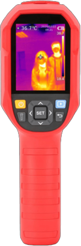 camera thermographique